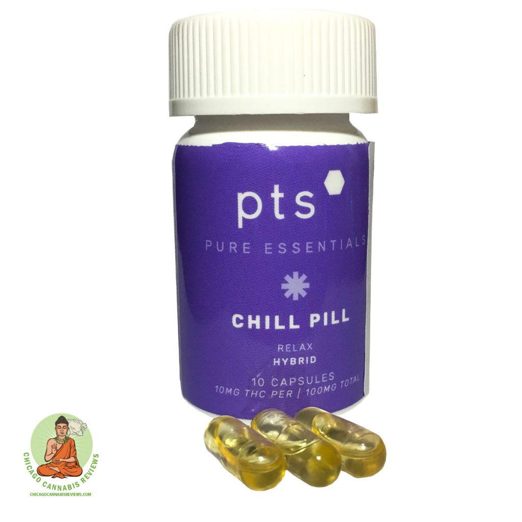 PTS Chill Pill Capsules 100mg-4
