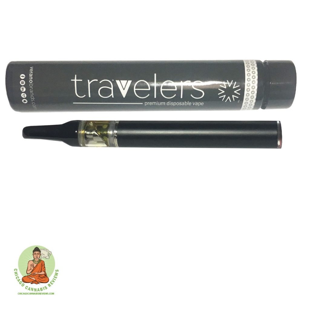 Travelers Grapefruit Kush 300mg Disposable Pen-4