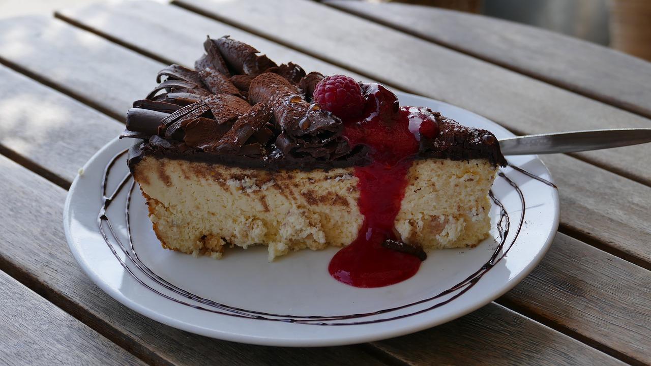 Caramel Brownie Cannabis Cheesecake