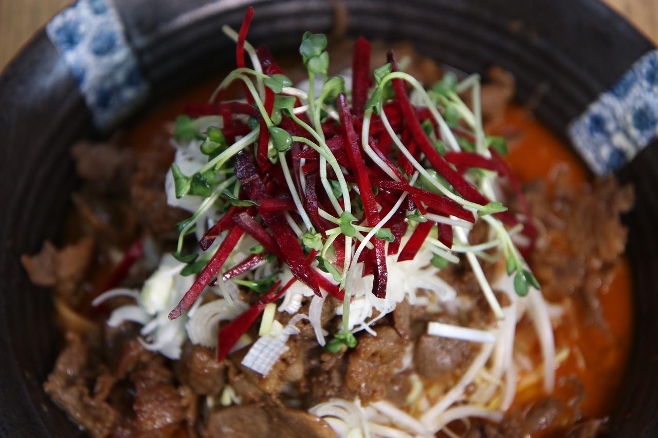 Pot Pork Satay Dish