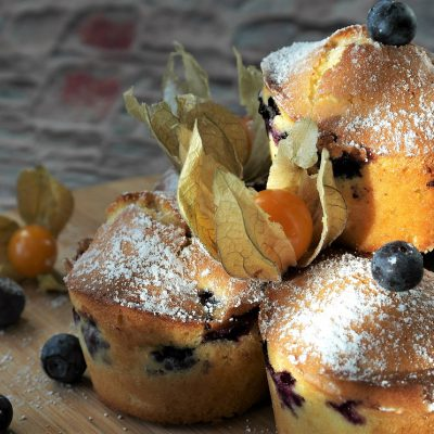 This Recipe For THC Blueberry Muffin Cake Is Super Simple