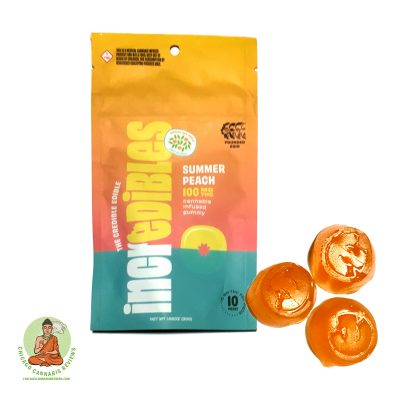 Incredibles Summer Peach Gummies 100mg