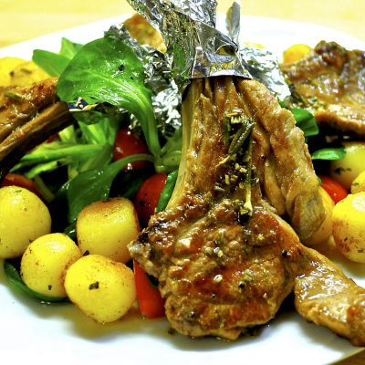 Treat Yourself To Some Homemade THC Lamb Chops